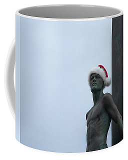Surfing Santa Coffee Mug