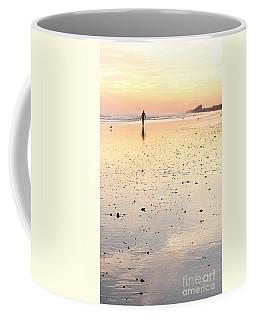 Surfing Sunset Coffee Mug