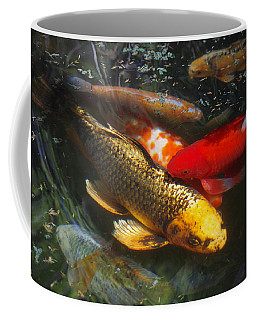 Surreal Fishpond Coffee Mug