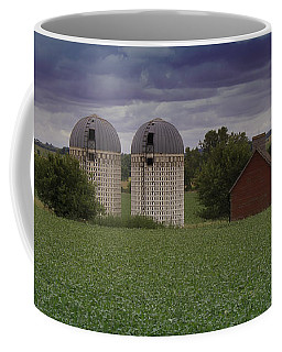 Surrounded By Fields Coffee Mug