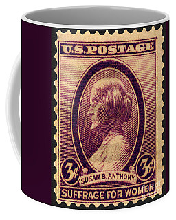 Susan B. Anthony Commemorative Postage Stamp Coffee Mug by Phil Cardamone