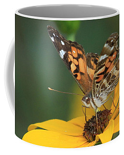 Susan Painted Lady Coffee Mug