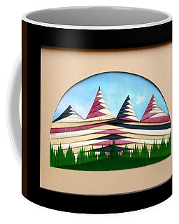 Coffee Mug featuring the mixed media Sushi by Ron Davidson