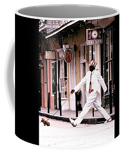 New Orleans Suspended Animation Of A Mime Coffee Mug