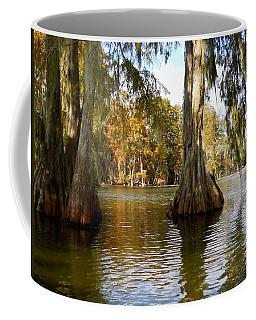 Swamp - Cypress Trees Coffee Mug by Beth Vincent