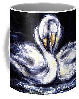 Swan Coffee Mug by Hiroko Sakai