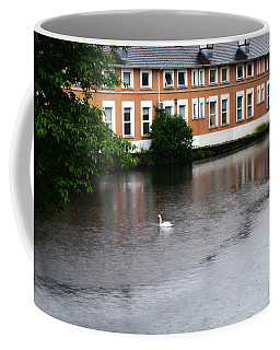 Swan In Dublin Coffee Mug