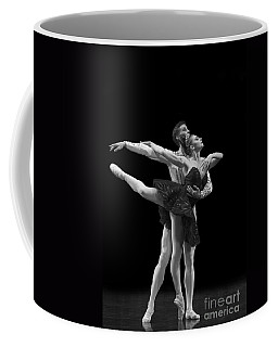 Swan Lake  Black Adagio  Russia  Coffee Mug by Clare Bambers