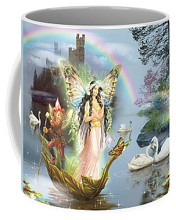 Swan Lake Fairy Coffee Mug