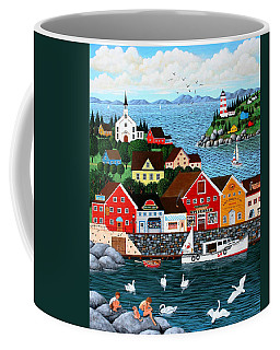 Swan's Cove Coffee Mug