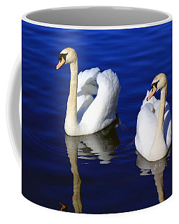 Swans On The Lake Coffee Mug