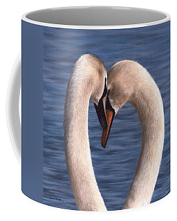 Swans Painting Coffee Mug