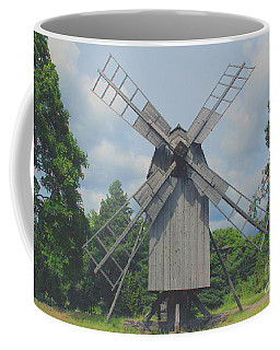 Coffee Mug featuring the photograph Swedish Old Mill by Sergey Lukashin