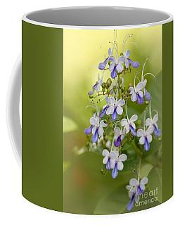 Sweet Butterfly Flowers Coffee Mug