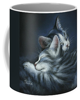 Coffee Mug featuring the drawing Sweet Dreams by Cynthia House