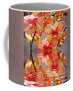 Sweet Orchid Reflection Coffee Mug