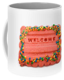 Sweet Welcome Mat Coffee Mug