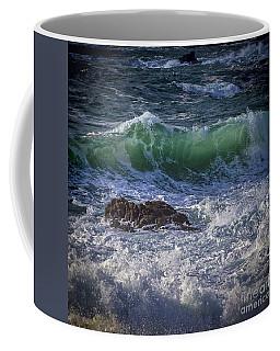 Swells In Doninos Beach Galicia Spain Coffee Mug