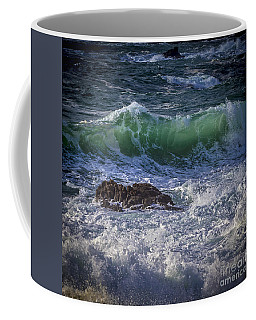 Swells In Doninos Beach Galicia Spain Coffee Mug