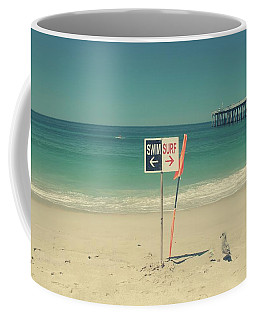 Swim And Surf Coffee Mug