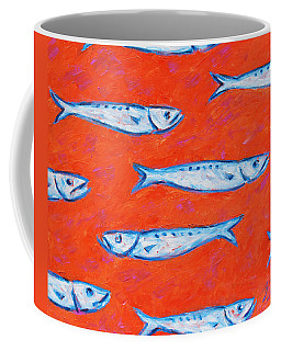 Swimming Upstream Coffee Mug