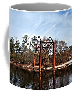 Coffee Mug featuring the photograph Swing Set by Laura Ragland