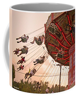 Swings At Kennywood Park Coffee Mug by Carrie Zahniser
