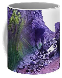 Coffee Mug featuring the photograph Swirl Rocks by John Williams