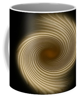 Coffee Mug featuring the photograph Swirling Abstract Design by Charles Beeler