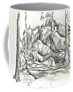 Swirling Cast Shadows At Elephant Rocks  No Ctc101 Coffee Mug