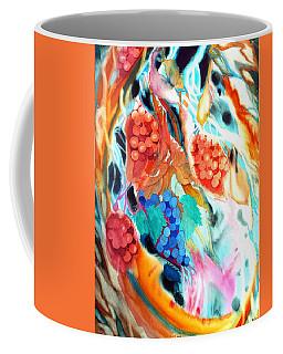 Swirling Grapes Coffee Mug