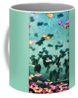 Swirling Leaves And Petals 2 Coffee Mug