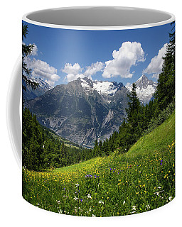 Switzerland Bietschhorn Coffee Mug