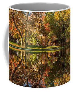 Sycamore Reflections Coffee Mug by James Eddy