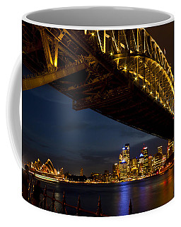 Coffee Mug featuring the photograph Sydney Harbour Bridge by Miroslava Jurcik