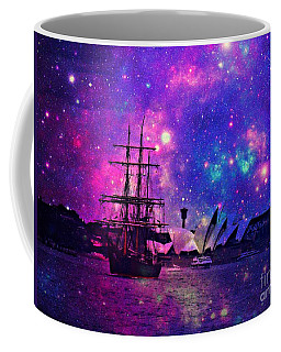 Sydney Harbour Through Time And Space Coffee Mug