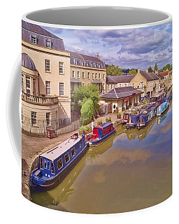 Coffee Mug featuring the photograph Sydney Wharf Bath by Paul Gulliver