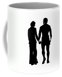 Sylvester Stallone And Talia Shire In Rocky Coffee Mug