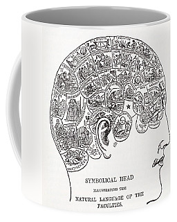 Symbolical Head Showing The Natural Coffee Mug