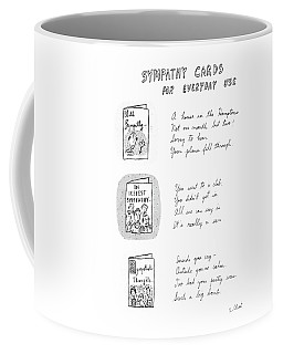 Sympathy Cards For Everyday Use Coffee Mug