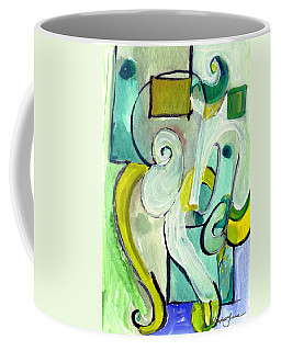 Symphony In Green Coffee Mug