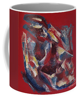 Coffee Mug featuring the painting Syncopation by Mini Arora