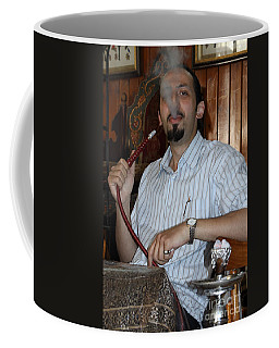 Syrian Man And Waterpipe Coffee Mug