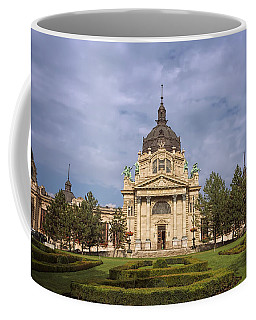 Szechenyi Baths Budapest Hungary Coffee Mug