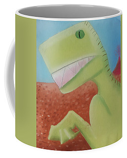 Dinoart Reptillian  Coffee Mug