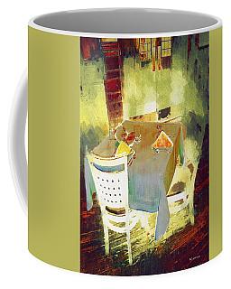 Table At The Fauve Cafe Coffee Mug