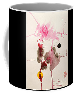 Coffee Mug featuring the painting Table D' Hote by Roberto Prusso