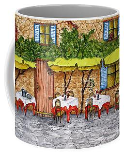 Table For Three Coffee Mug