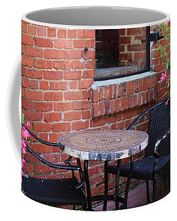 Coffee Mug featuring the photograph Table For Two by Cynthia Guinn