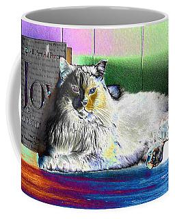 Coffee Mug featuring the digital art Table Queen by Aliceann Carlton